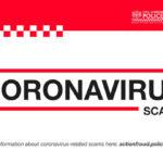 Coronavirus scams alert