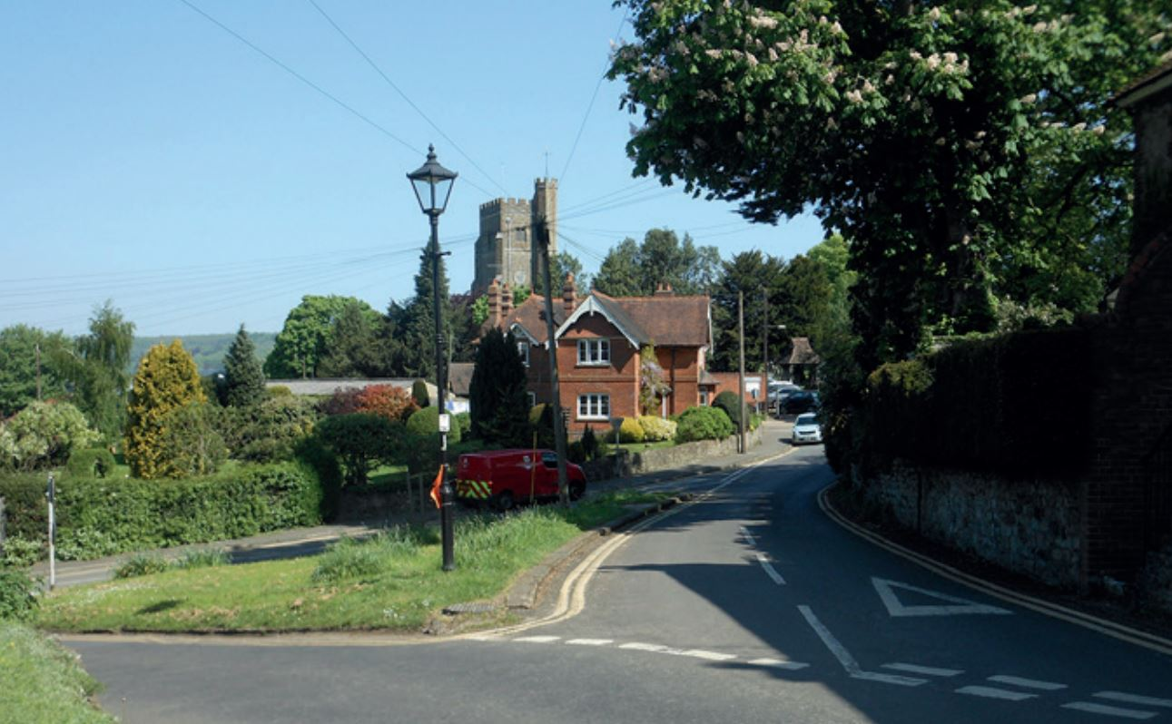 View towards Seal Church