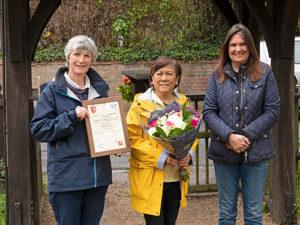 KALC Award presented to Maxine Clark