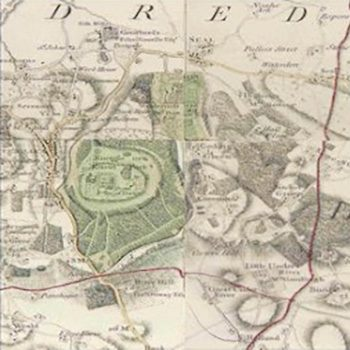 Historical map showing Seal