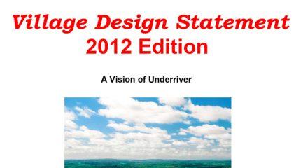 Underriver Village Design Statement cover