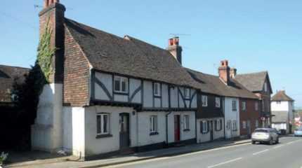 Cottages in Seal High Street
